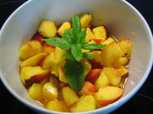 my magic cauldron – salad of nectarines